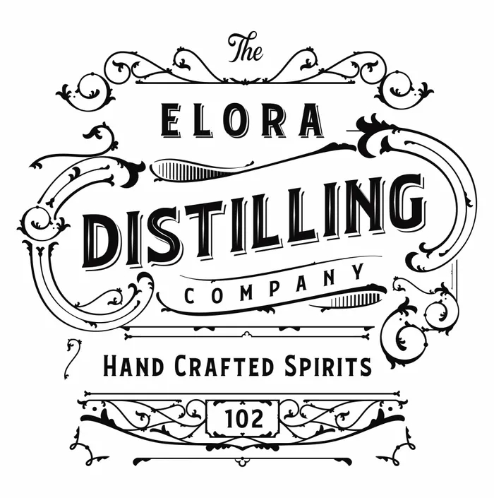 Elora Distilling Co. logo