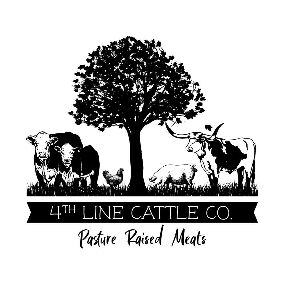 4th Line Cattle Co. logo